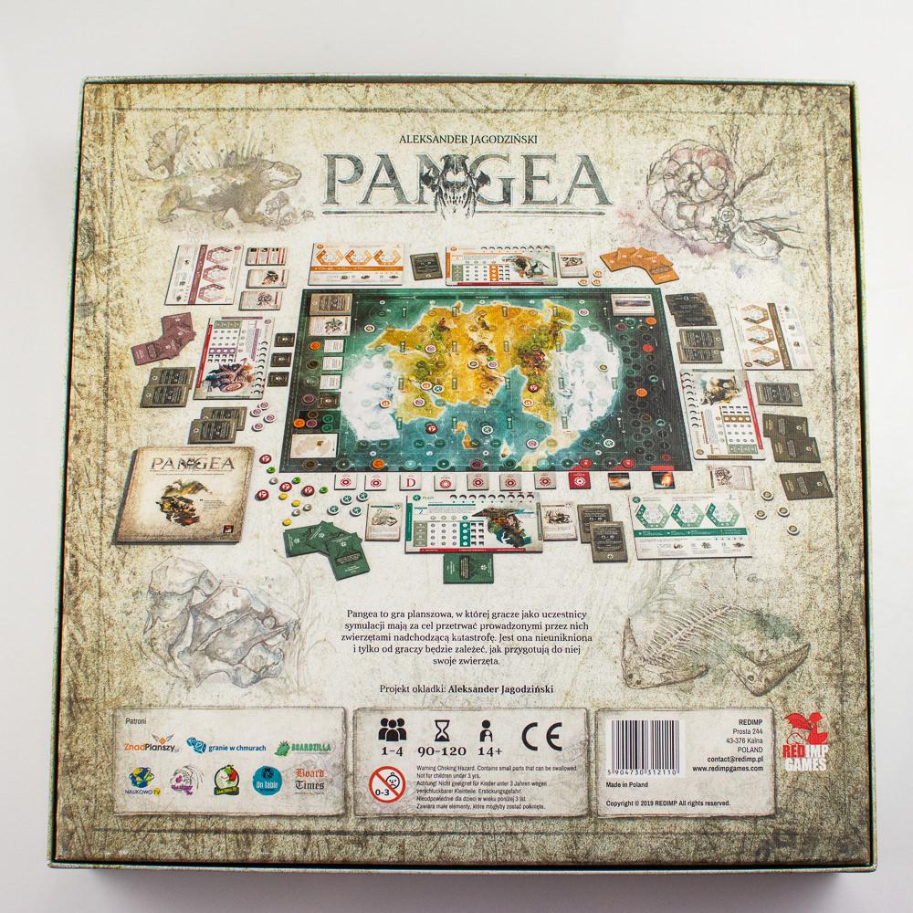 Pangea dół pudełka