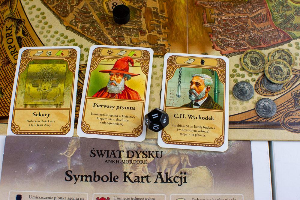 Karty akcji Świat Dysku Ankh Morpork